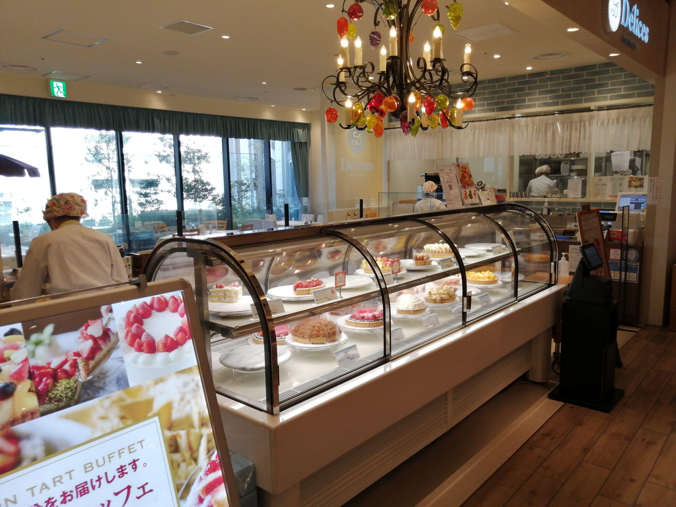 Delices tarte&cafe 大丸心斎橋店 訪問日 8/28
